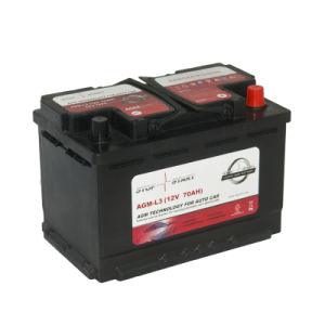 Factory Price Mf AGM Car Battery Battery with Excellent Start & Stop Performance pictures & photos