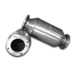 Universal Fit Three Way Catalytic Converter Cylinder for Petrol Vehicle pictures & photos
