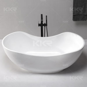 Acrylic Stone Solid Surface Bath Tubs for Apartment pictures & photos