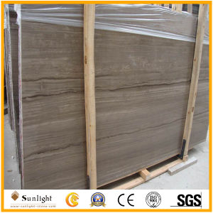 China Grey Wood/Athen Grey Marble Slabs pictures & photos