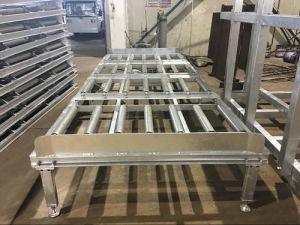 Pallet Container Rack Galvanised for Ld3 pictures & photos