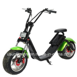 2018 New Design Aluminum Alloy Wheel Remove Battery City Coco Electric Scooter with Ce pictures & photos