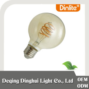G125 Spiral Filament LED Bulb with good price pictures & photos