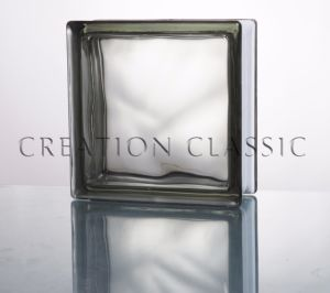 190*190*80mm Cloudy Grey Glass Block pictures & photos