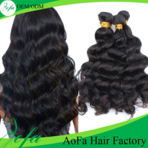 Top Quality Body Wave Virgin Human Hair Extention pictures & photos