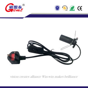BS Approval UK Salt Lamp Power Cord with 303 Switch pictures & photos