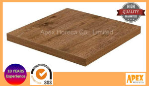 Melamine Square Table Top Restaurant Furniture Coffee Table Top pictures & photos