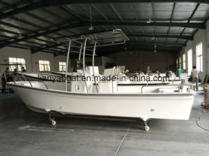 Liya 5.8m Fishing Boat Fiberglass Work Boat with Console pictures & photos