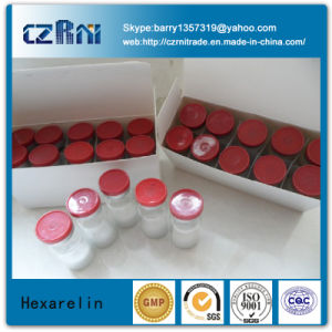 Top Quality Pralmorelin Peptide Raw Powder Ghrp-6 (2mg/vial, 5mg/vial) pictures & photos
