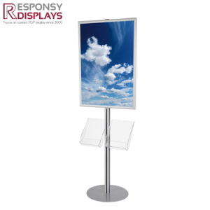 High Quality Metal Floor or Customized Display Stand for Paintings pictures & photos
