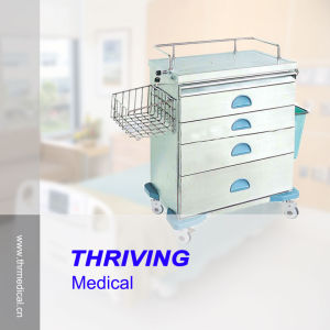 Thr-Zy104-II Stainless Steel Hospital Anesthesia Cart pictures & photos