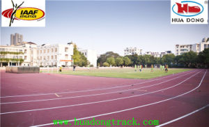 Electrical Insulation Prefabricated Rubber Running Track pictures & photos