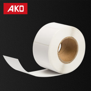 OEM Accept PP Synthetic Paper / Holt Melt for Low Temperature / 50g White Glassine Liner Self Adhesive Sticker pictures & photos