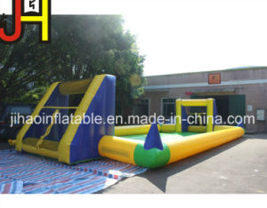 Outdoor Sport Game Custom Inflatable Soap Football Court pictures & photos