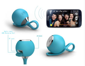 Cut Waterproof Portable Mini Portable Speaker for Phone PC pictures & photos