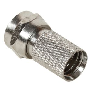 RF Connector CATV F Male Twist on Connector RG6 Rg59 Cable pictures & photos