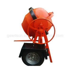 Mini Concrete Mixer Powered by Gasoline Engine pictures & photos