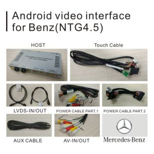 Android GPS Navigation Video Interface for Mercedes-Benz C Class W205 W204 W203 (NTG-4.5) pictures & photos