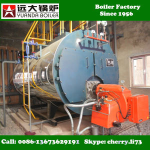 Wns Single Drum Horizontal Diesel Oil Fired Hot Water Boiler Price pictures & photos