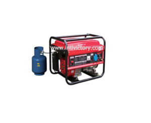 6kw Small Portable Gas Fuel LPG Generator with CE/CIQ/ISO/Soncap pictures & photos