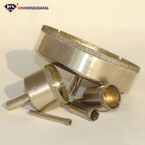 High Quality Diamond Coated Electroplated Core Drill Bit pictures & photos