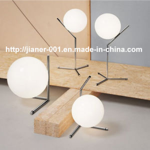 Very Competitive Popular Project Modern Glass Desk Table Lamp Light for Bedside pictures & photos