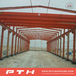 Sandwich Panel Wall Steel Structure for Warehouse pictures & photos
