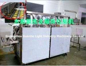 Automatic Water-Soluble Film Packing Machine for Liquid Detergent pictures & photos