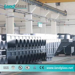 Landglass Fully Automatic Curved Glass Toughening Production Line pictures & photos