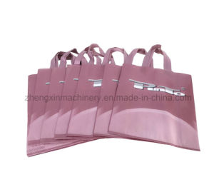 Zxl-E700 Non-Woven Box Bag Making with Online Handle Attach Machine (5-in-1) pictures & photos