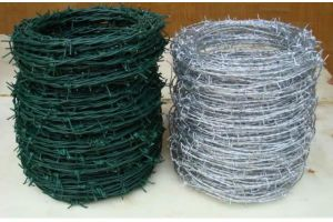 PVC Coated Barbed Wire for Security pictures & photos