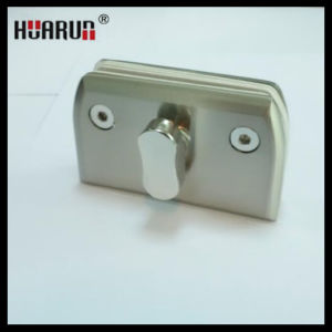 Shower Room Brass Glass Door Locks/ Brass Padlock (HR1199) pictures & photos