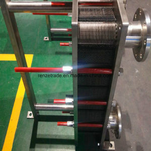 Food Grade Single Stage or Two Stages Plate Heat Exchanger for Beer Processing pictures & photos