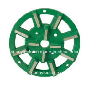 Metal Disc Wet Brazed Metal Bonding Diamond Grinding Plate pictures & photos