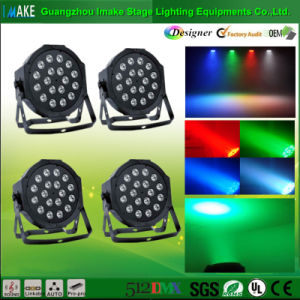 Professional Manufacturer 18PCS LED Flat PAR Light