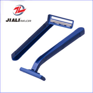 Hot Sell Twin Blade Disposable Shaving Razor Blade (High Quality) pictures & photos