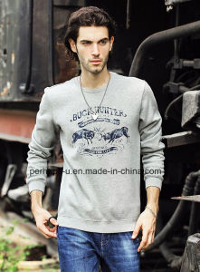 Cool Mens Warm Long Sleeve Sweater with Print Logo pictures & photos