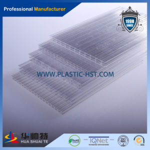 Transparent Hollow PC Roofing Sheet (PC-H) pictures & photos