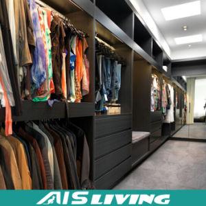 Custom Open Shelf Modern Design Wardrobe Closet (AIS-W72)