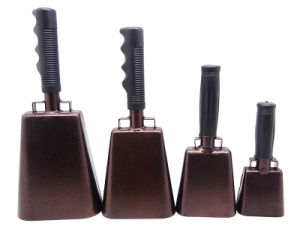 """11"""" Cowbells with Rubber Handle for Sport Events pictures & photos"""