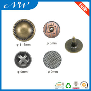Factory Price Good Quality Metal Alloy Jeans Rivet pictures & photos