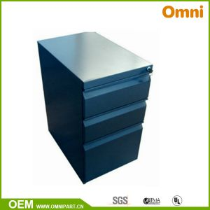 Mobile Pedestal File Cabinet with Three Drawer (OMNI-FC-16) pictures & photos