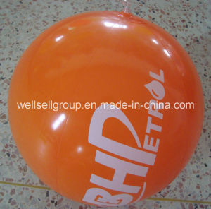 Customised Printed Logo PVC Inflatable Beach Ball for Promotional (CPCQ-001) pictures & photos