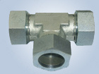 Metric Thread Bite Type Tube Fittings Replace Parker Fittings and Eaton Fittings (EQUAL TEES) pictures & photos