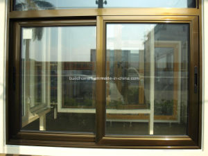 South African Compliant Tempered Grey Tinted Glass Sliding Aluminium Windows pictures & photos