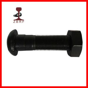 Button Head Oval Neck Track Bolt for Railway Fasteners pictures & photos