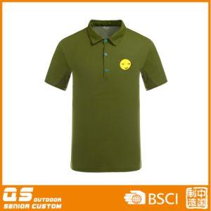 Men′s Print Polo T-Shirt pictures & photos