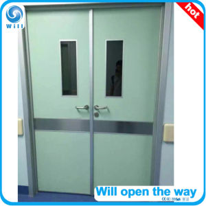 Manual Hospital Swing Door pictures & photos