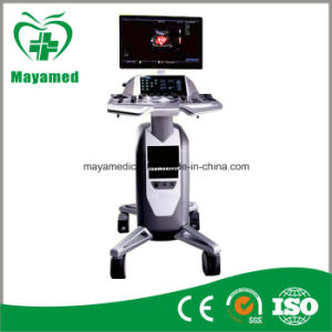 My-A037 Medical Trolly Color Doppler Ultrasound Scanner pictures & photos