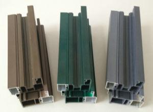 Conch 60 Casement Aluminum Plastic Doors and Windows Profile pictures & photos